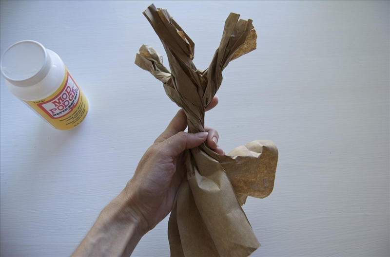 как делать помпоны из пакетов - Сумки.