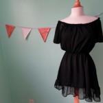 Маленькое чёрное платье, картофель и краска =  Dolce and Gabbana.