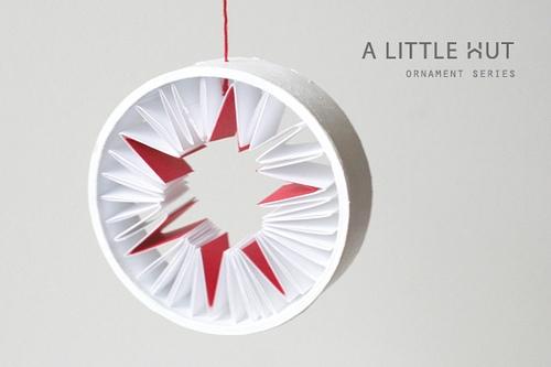 Дизайнерская елочная звезда для новогоднего декора