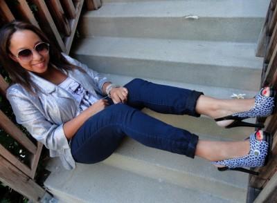 Глазастые туфли в стиле Леди Гааги.