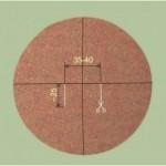 Как сшить накидку-круг с декоративной отделкой фильцеванием