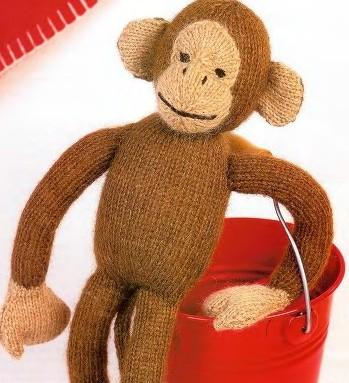 Связать обезьянку своими руками спицами