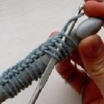 вязаные украшения крючком