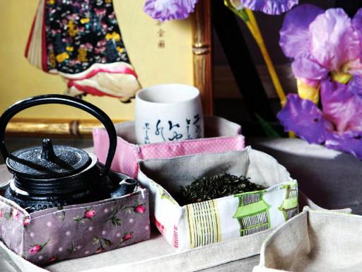 набор для чая из ткани