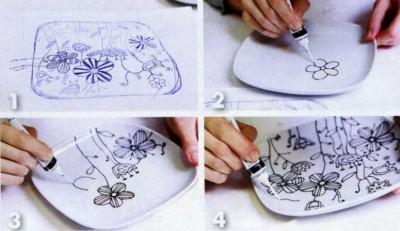 керамика под роспись