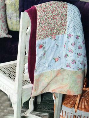 Истинно русский пэчворк: мастерим красивое одеяло