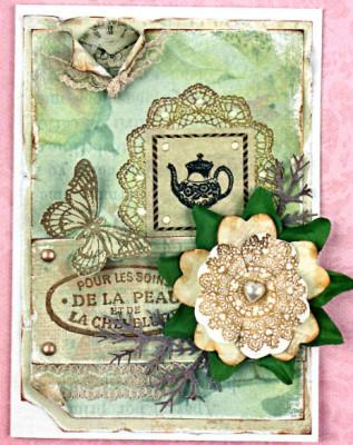 открытка винтажная