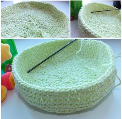 вязание шапочки крючком для ребёнка