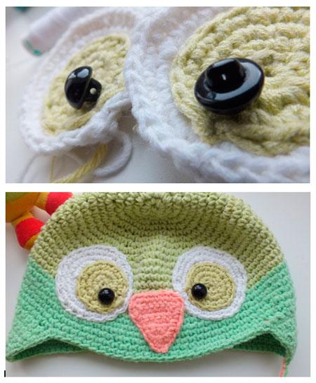 вязание шапки крючком для девочек