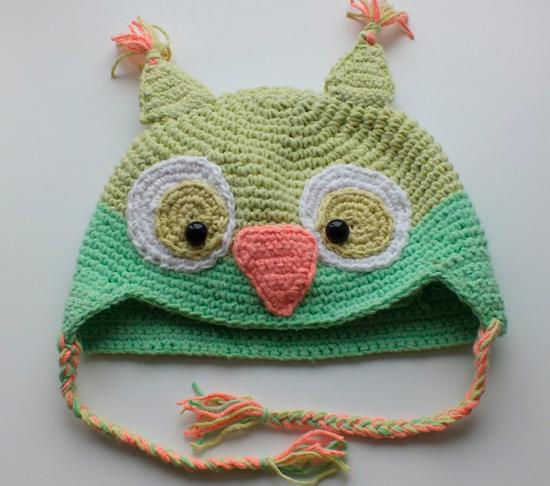 Вяжем шапку крючком для ребёнка