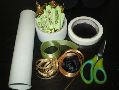 материалы и инструменты для подарка своими руками